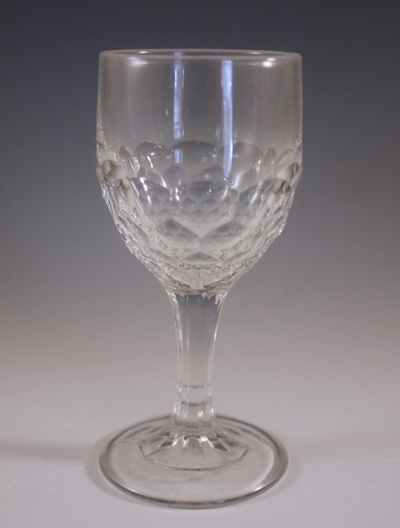 EAPG-FLINT-GLASS-HONEYCOMB-PATTERN-GOBLET-CORDIAL
