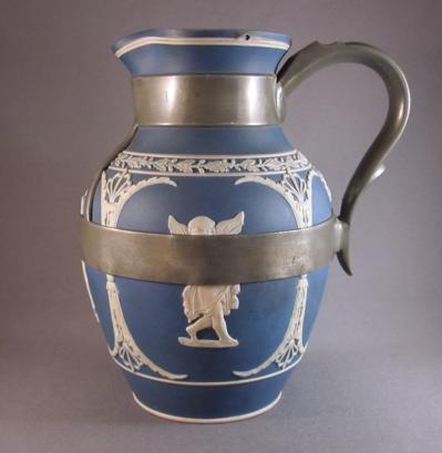 Dudson jasperware jug, c.1870 « Past Imperfect, The Art of Inventive ...
