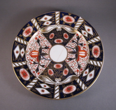 Royal Crown Derby plate, c 1880 « Past Imperfect, The Art of