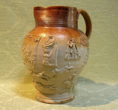mortlake saltglazed jug 12912014162818